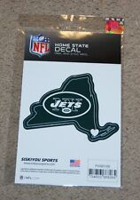 NEW YORK JETS NFL FOOTBALL SPORTS HOME STATE SMALL DECAL