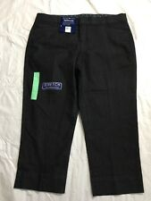 Bandolino Jeans Maureen Capris Size 8 Classic Fit Relaxed Stretch Indigo NWT
