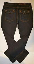 GUNMETAL Button Fly Straight Leg Black Coated Denim Jeans Mens Size 40 x 35 New