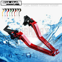 1 PAIR Long Adjustable Brake Clutch Levers for HONDA CBR1000RR / FIREBLADE 04-07