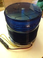 NEW MG Electronics 10700 Electrical/Industrial Warning Blue Beacon Strobe Light