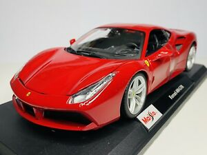 Maisto 1/18 Diecast Special Edition Ferrari 488 GTB Red (SALE)