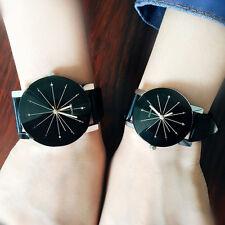 1Pair Lovers Women Men Wristwatches Couples Clock Quartz Quartz-watches Unisex