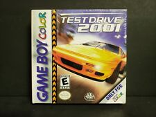 Test Drive 2001 (Nintendo Game Boy Color, 2000) GBC Factory Sealed New