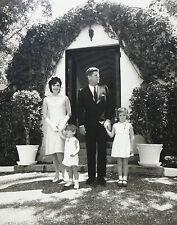 JOHN F KENNEDY JFK PHOTO 1963 EASTER ROBERT L WHITE MUSEUM COLLECTION W/ COA