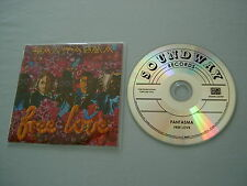 FANTASMA Free Love promo CD album