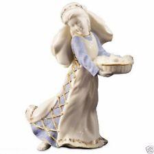 Lenox First Blessing Nativity Fruit Market Maiden Figurine Christmas Retired New