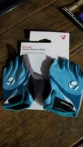 Bontrager Solstice Women's Cycling Glove Fingerless XS 6 Teal Gray