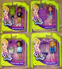Polly Pocket 4 Figures - Polly Nicholas Lila & Shani New!