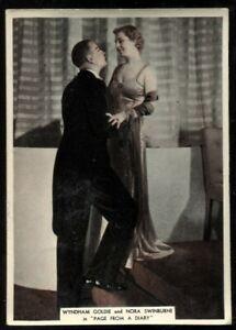 Tobacco,Ardath,FROM SCREEN & STAGE,1936,XL,Wyndham Goldie,Nora Swinburne,#37