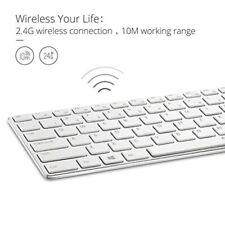 Rapoo E9110 Tastatur RF Wireless WHITE - (DEU Layout - QWERTZ)