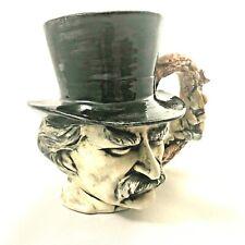 """Character Ceramic Jug  """"Mark Twain"""""""
