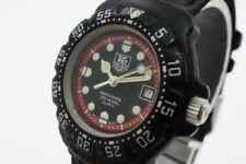 TAG HEUER Watch 383.508 Formula 1 Black   Quartz St.Steel Date   T3870