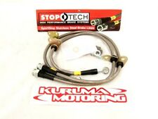 STOPTECH STAINLESS STEEL BRAKE LINES - REAR PAIR 950.35500