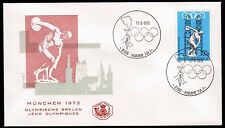 Belgien 1642 FDC-HAMME, Olympiade Sommer 1972