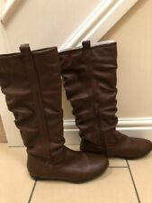 Womens/Ladies brown boots size 6