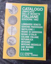 CATALOGO UNIFICATO DELLE MONETE ITALIANE - Edizione Alfa 1982