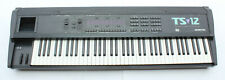 Vintage Ensoniq TS 12 Transwave Synthesizer Keyboard Synth 76 Key w Case TS12