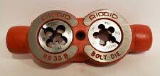 "Ridgid No. 33B 3-Way Bolt Die Threader 3/8""-16, 1/2""-13, 5/8""-11 in Orginal Box"