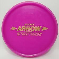 Aerobie Flying Disc Purple Arrow Approach & Putter Disc Golf 164 Grams