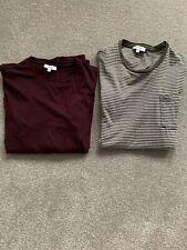 2 Reiss Mens T Shirts Size Medium
