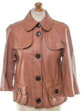BURBERRY LONDON LAMB LEATHER JACKET UK 10 US 8 EU 38 FR 40 IT 42 MADE IN ITALY