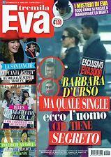 Eva.Barbara D'Urso,Cristina Buccino,Cristina D'Avena,Alessandra Amoroso,iii