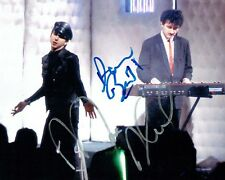 SOFT CELL Marc ALMOND & David BALL Double SIGNED Photo 6 AFTAL Autograph COA