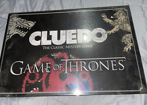 Winning Moves Cluedo Game of Thrones Game Board