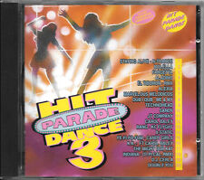 """COMPILATION CD """"HIT PARADE DANCE 3"""" 1995 FLYING RECORDS FLY 204 CD RARO"""