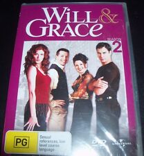 Will And & Grace Season 2 (Australia Region 4) DVD – New