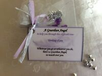 Guardian Angel thinking of you through difficult time get well soon gift