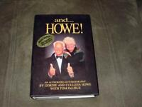 GORDIE HOWE and... HOWE ! - SIGNED AUTOGRAPHED BOOK - Mr Detroit Hockey & Wife