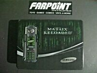 SUPER RARE! Samsung MATRIX RELOADED Prop Phone Metal Tin Empty Box Case ONLY