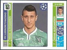PANINI UEFA CHAMPIONS LEAGUE 2014-15- #172-LUDOGORETS RAZGRAD-MIHAIL ALEKSANDROV