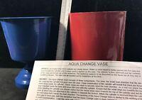 Vintage Magic Aqua Change Vase Stage Magic Trick