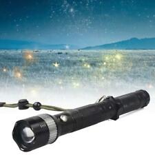 XPE LED Flashlight Torch 3000LM Adjustable Focus Zoom Light Lamp Camping UP