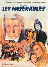LES MISERABLES JEAN GABIN BERNARD BILER DVD