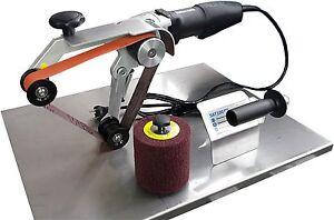 SET: Rohrbandschleifer RBS760proWS & Anbausatz Satiniermaschine SAT100pro