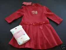 NWT Gymboree Sugar and Spice Red Dress Dot Tights 6-12