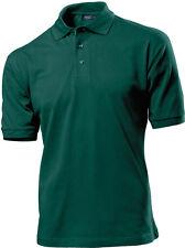 Hanes G135 Hombre Lisa 100% Top Algodón Polo Deporte Camisa De Golf No Logo