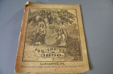 AGRICULTURAL ALMANAC FOR THE YEAR 1896 JOHN BAER'S SONS . LANCASTER PA.