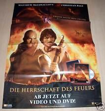 Filmposter A1 Neu Filmplakat Die Herrschaft des Feuers