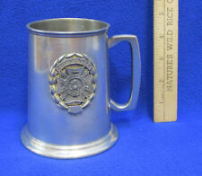 Pewter Beer Stein Tankard Mug Commander US Veterans VFW 1979 Leonard Eales