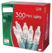 Holiday Wonderland Mini Lights - 2 150 Count Light Sets, Clear