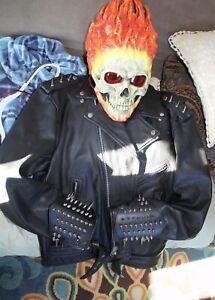 Ghost Rider Helmet and Jacket Costume