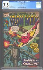Iron Man #31 CGC 7.5 (1970) - 1st appearance Kevin O'Brien 'Guardsman' Nice copy