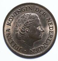 1971, Netherlands, 5 Cent, Juliana, UNC, Bronze, KM# 181, Lot [2194]