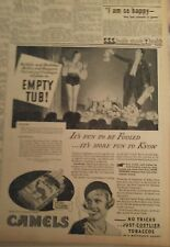 Feb 21, 1933 Newspaper #J5606- Pulling Rabbits From A Tub- It'S Fun To Be Fooled