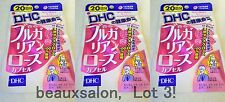 LOT3! DHC Supplement Bulgarian Rose, 40 tablets (20day)x 3packs = 60days